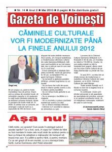Gazeta de Voinesti nr. 14