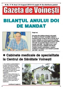 Gazeta de Voinesti nr. 17