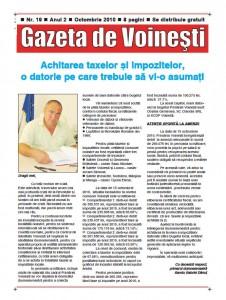 Gazeta de Voinesti nr. 19