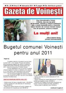 Gazeta de Voinesti nr. 23