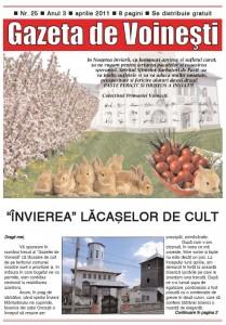 Gazeta de Voinesti nr. 25