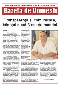 Gazeta de Voinesti nr. 27