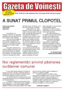 Gazeta de Voinesti nr. 30