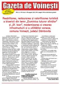 Gazeta de Voinesti nr. 41