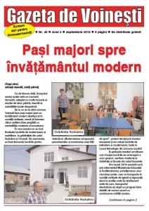Gazeta de Voinesti nr. 42