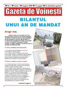Gazeta de Voinesti nr.5