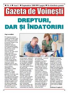 Gazeta de Voinesti nr.6
